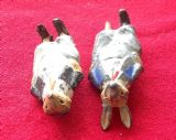 Original 1934 Cococub figure  Whiskers Rabbit ( A damaged pair for spares or repair )